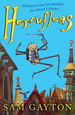 Cover for Hercufleas by Sam Gayton