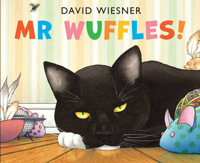 Cover for Mr Wuffles! by David Wiesner