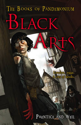 Cover for Black Arts The Books of Pandemonium by Andrew Prentice, Jonathan Weil