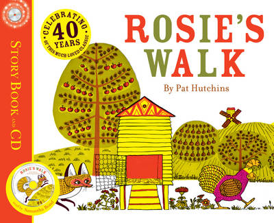 Cover for Rosie's Walk (book and audio CD) by Pat Hutchins