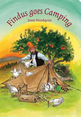 Cover for Findus Goes Camping by Sven Nordqvist