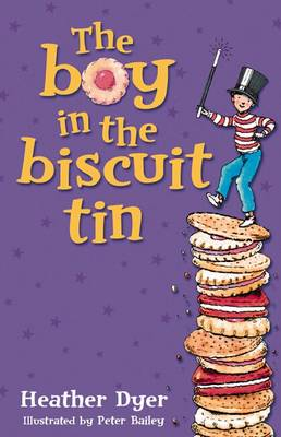 Cover for The Boy In The Biscuit Tin by Heather Dyer