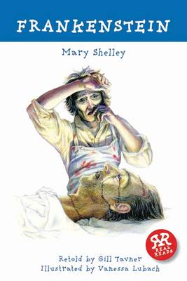 Cover for Frankenstein - retold by Gill Tavner by Mary Shelley