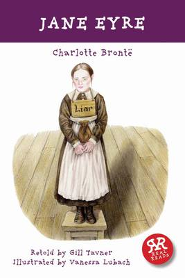 Cover for Jane Eyre - retold by Gill Tavner by Charlotte Bronte