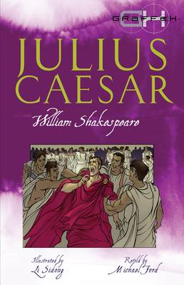 Cover for Julius Caesar - retold by Michael Ford  by William Shakespeare
