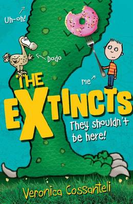 Cover for The Extincts by Veronica Cossanteli