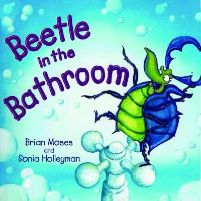 Cover for Beetle in the Bathroom by Brian Moses