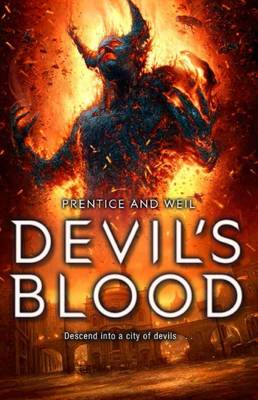 Cover for Devil's Blood by Andrew Prentice, Jonathan Weil