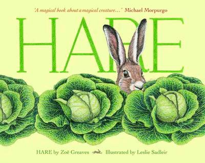 Cover for Hare by Zoe Greaves