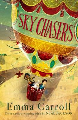 Cover for Sky Chasers by Emma Carroll
