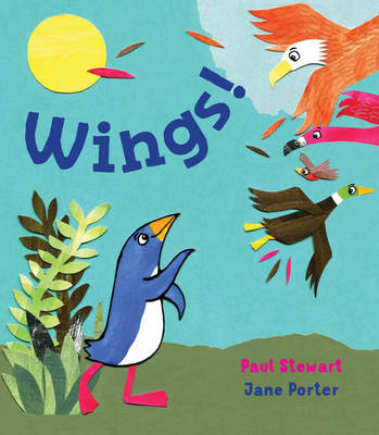 Cover for Wings! by Paul Stewart