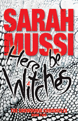 Cover for Here be Witches by Sarah Mussi