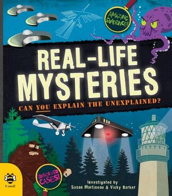 Cover for Real-Life Mysteries by Susan Martineau