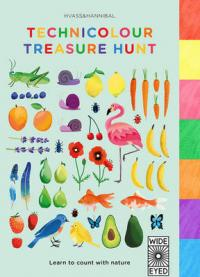 Technicolour Treasure Hunt Learn to Count with Nature