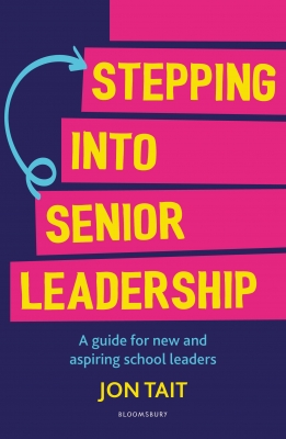 Cover for Stepping into Senior Leadership by Jon Tait