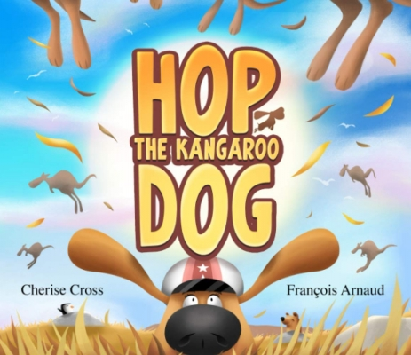 Hop the Kangaroo Dog