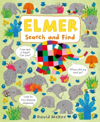 Book Cover for Elmer Search and Find by David McKee