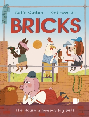 Bricks The House a Greedy Pig Built