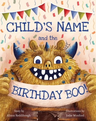 Book Cover for The Birthday BOO! by Alison Reddihough