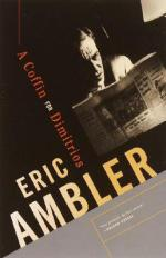 Cover for A Coffin for Dimitrios by Eric Ambler