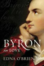 Cover for Byron in Love by Edna O'Brien