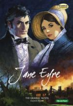 Cover for Jane Eyre : The Graphic Novel - Quick Text by Charlotte Brontë