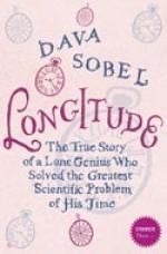 Cover for Longitude by Dava Sobel