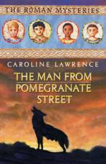 Cover for The Man From Pomegranate Street by Caroline Lawrence