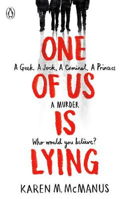 Cover for One of Us is Lying by Karen McManus