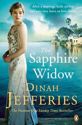 Cover for The Sapphire Widow by Dinah Jefferies