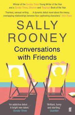 Cover for Conversations with Friends by Sally Rooney