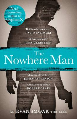 Cover for The Nowhere Man by Gregg Hurwitz