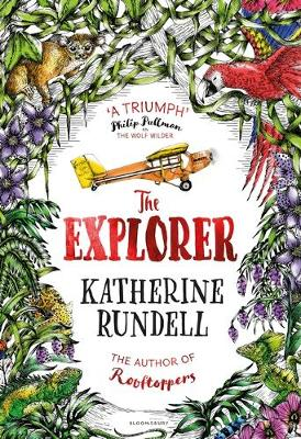 Cover for The Explorer by Katherine Rundell