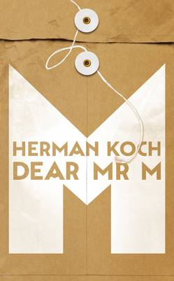 Cover for Dear Mr M by Herman Koch