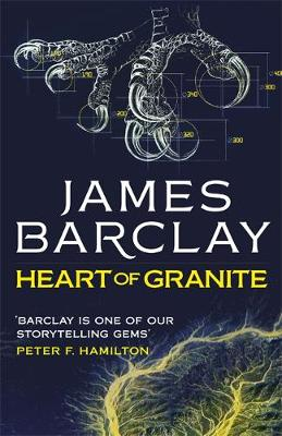 Cover for Heart of Granite by James Barclay