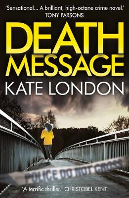 Cover for Death Message by Kate London