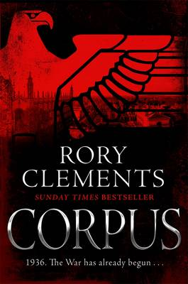 Cover for Corpus by Rory Clements