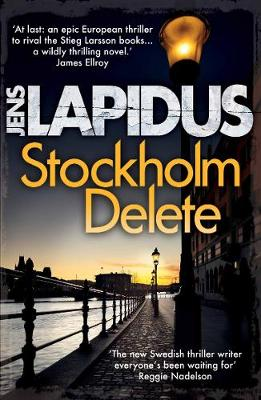 Cover for Stockholm Delete by Jens Lapidus