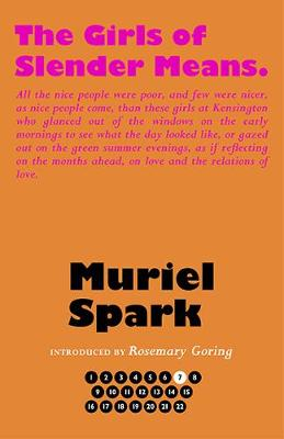 Book Cover for The Girls of Slender Means by Muriel Spark