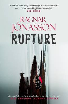 Cover for Rupture by Ragnar Jonasson