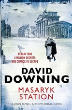 Cover for Masaryk Station by David Downing