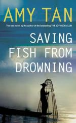 Cover for Saving Fish From Drowning by Amy Tan
