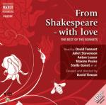 Cover for From Shakespeare - with Love by William Shakespeare