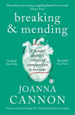 Cover for Breaking & Mending by Joanna Cannon