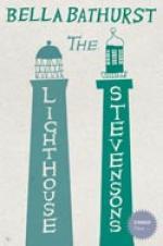 Cover for The Lighthouse Stevensons by Bella Bathurst