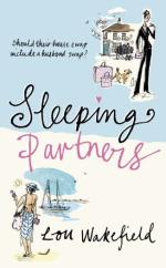Cover for Sleeping Partners by Lou Wakefield