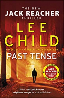 Cover for Past Tense by Lee Child