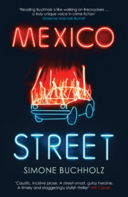 Book Cover for Mexico Street  by Simone Buchholz