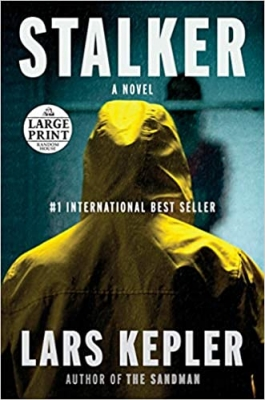 Cover for Stalker by Lars Kepler