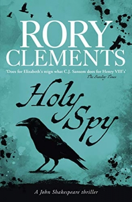 Cover for Holy Spy by Rory Clements